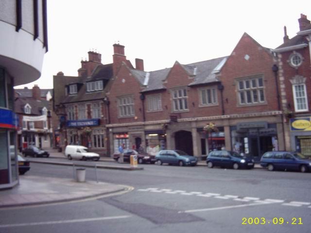 Barker Street, Shrewsbury