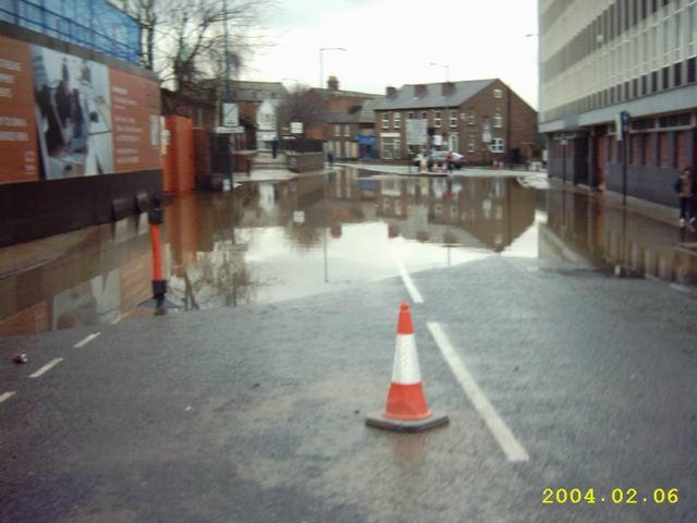 Shrewsbury 2004 floods