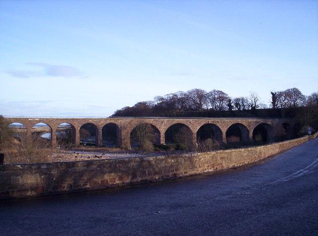 Old Railway Bridge over the North Esk