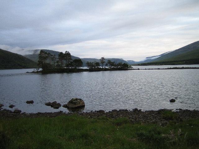 Island on Loch Choire