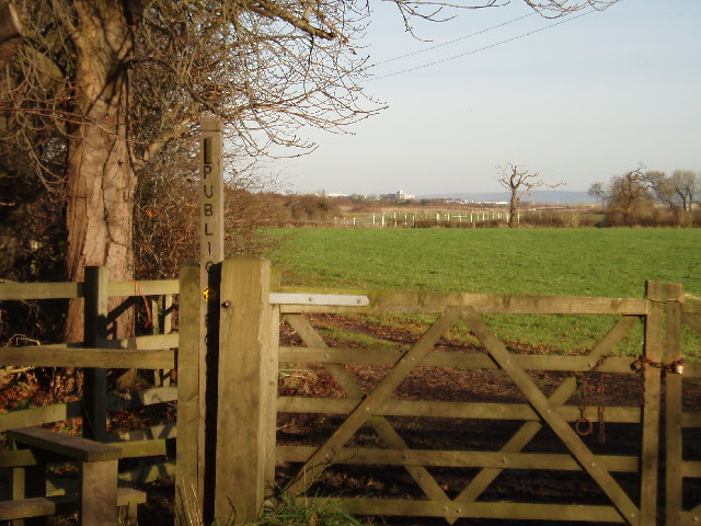 Public Footpath on Hobcroft Lane