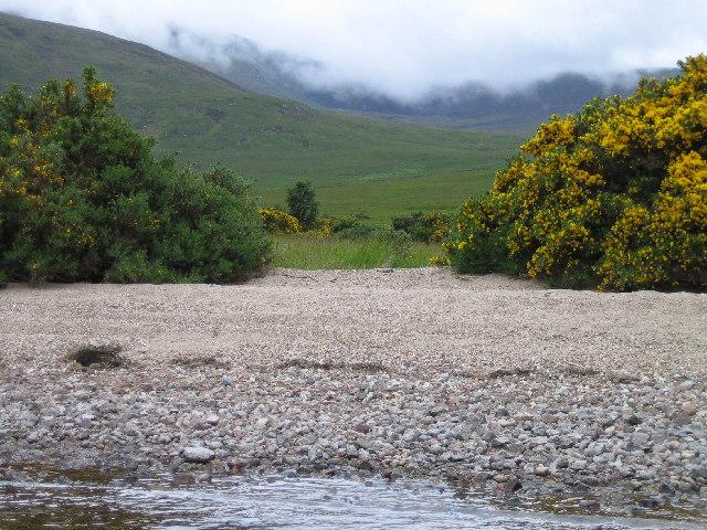 Loch Choire shoreline