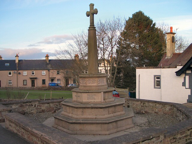 Luncarty war memorial