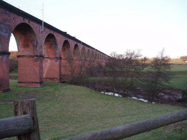 Twemlow Viaduct (Looking NE)