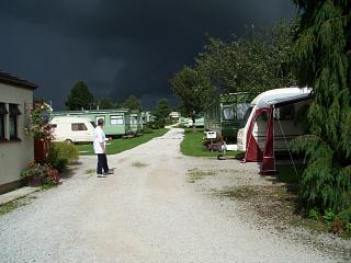 The Helm wind at Melmerby caravan park