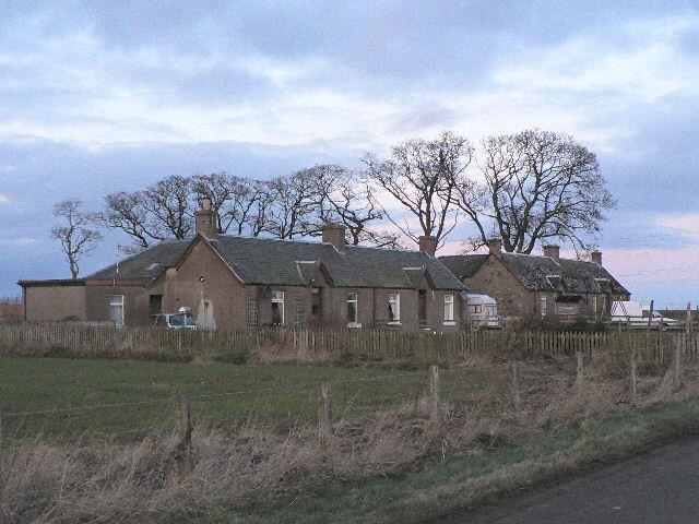 Cottages near Stewart Tower