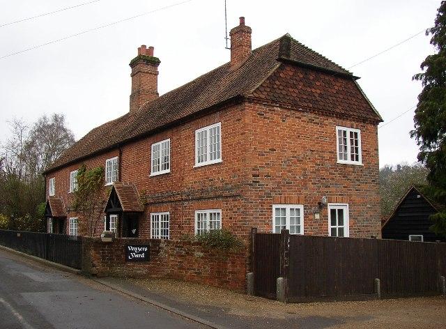 Houses in The Street, Puttenham