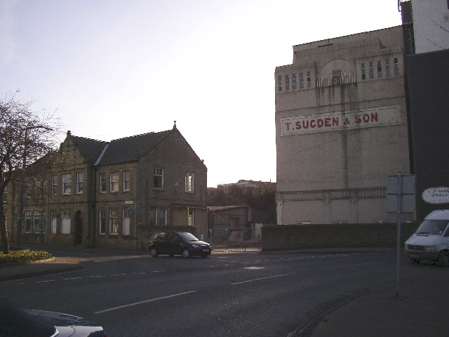 Disused Flour Mill, Brighouse