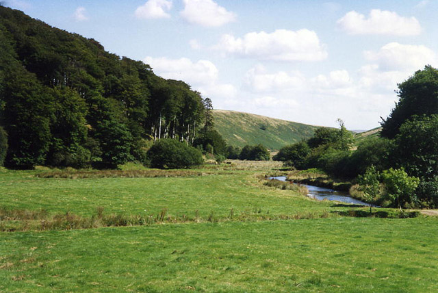 Exmoor: the Barle valley at Simonsbath