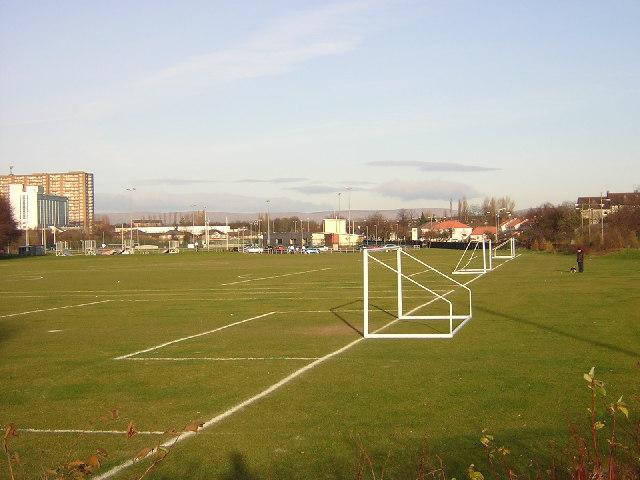 Football Pitches, Pollok, Glasgow