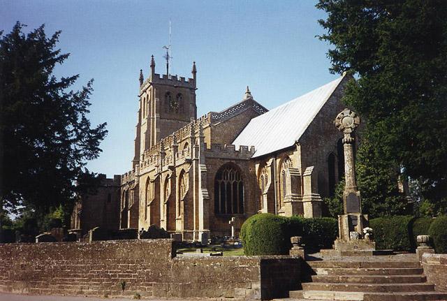 Martock: All Saints church