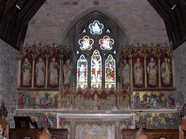 Putley Parish Church - interior