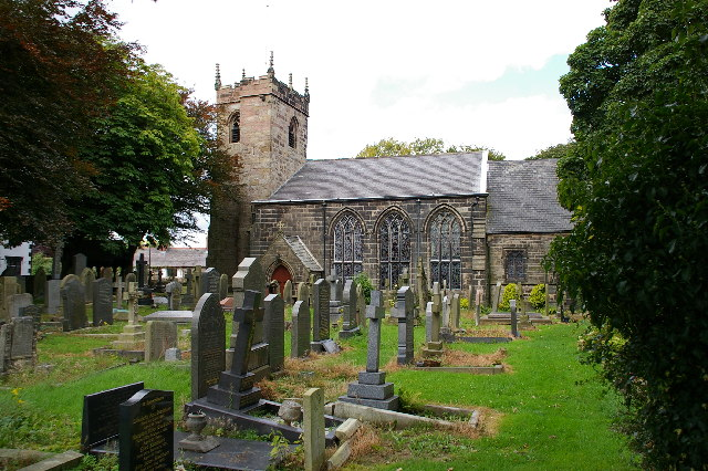 St James Church Brindle