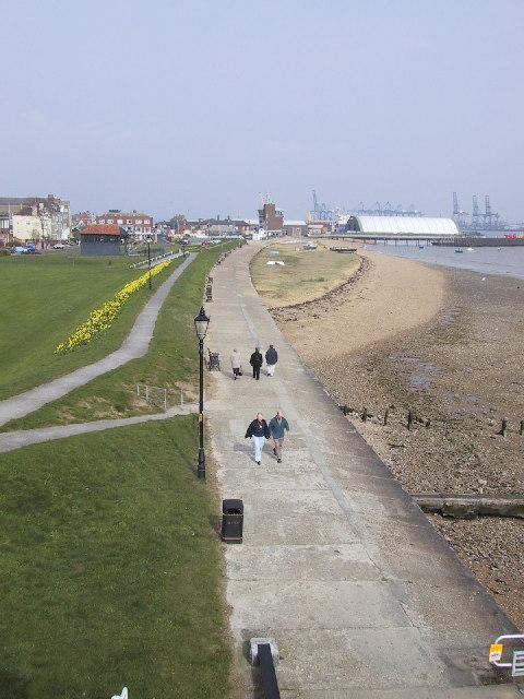 Harwich promenade
