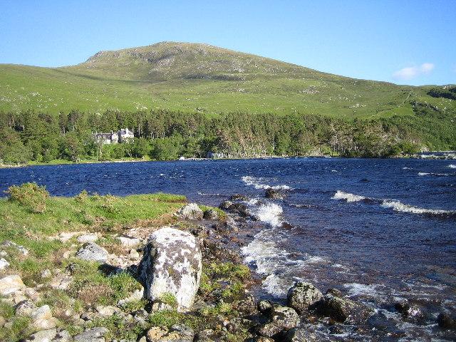 Loch Choire Lodge.