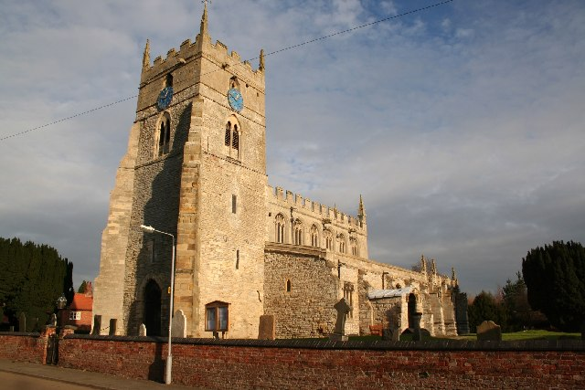 All Saints' church, Sutton on Trent