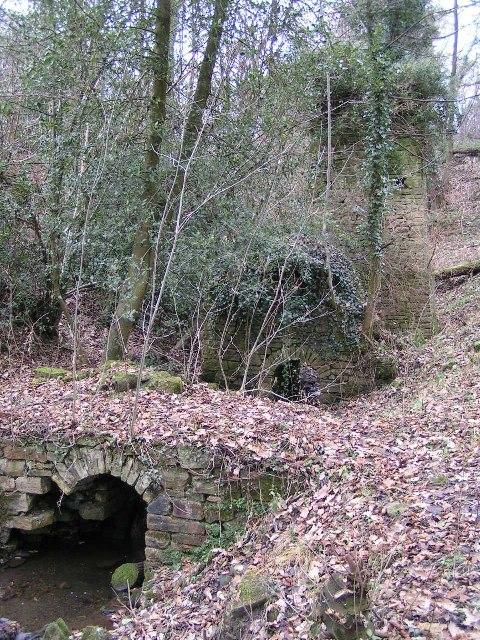 Mill remains, Ringstone Clough