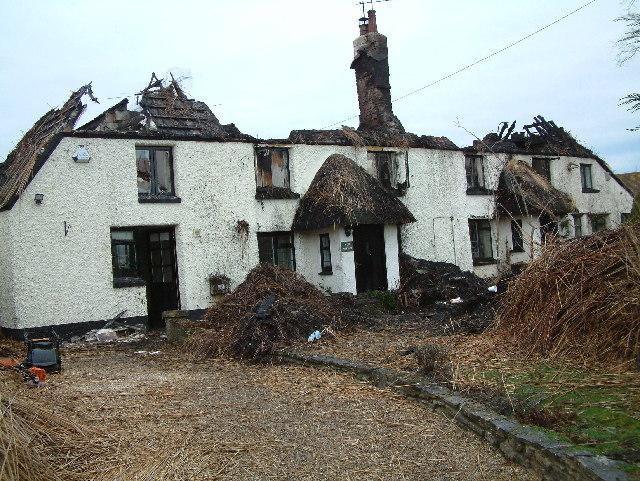 Christmas ruined, Godwinscroft