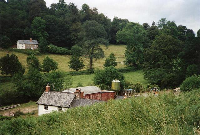 Wiveliscombe: overlooking Challick Cottage