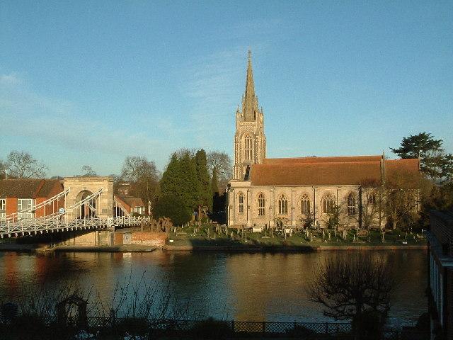 Marlow Church & Bridge