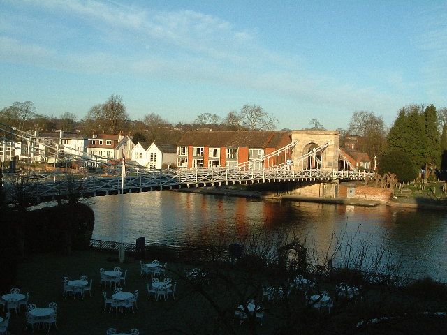 Bridge over the Thames, Marlow