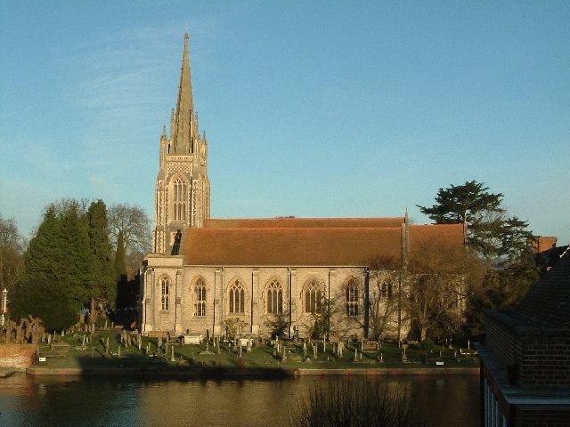 All Saints, Marlow
