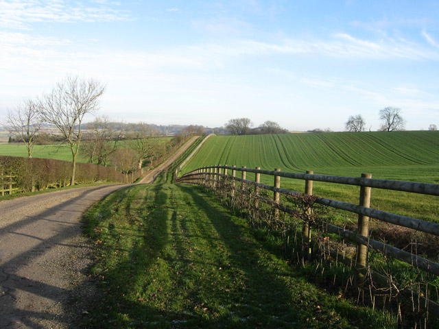 Farmland near Long Clawson, Leicestershire