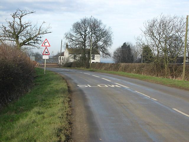 Hazeltongue Farm near Long Clawson, Leicestershire