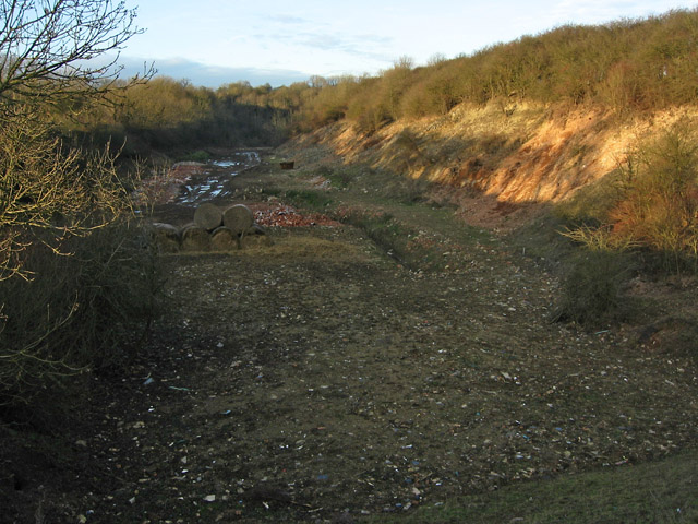 Line of Disused Railway near Scalford, Leicestershire