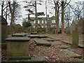 SE0237 : Bronte Parsonage from Churchyard by Gary Rogers