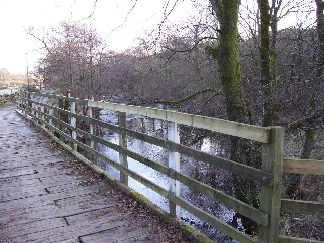 Bridge to Steps farm.