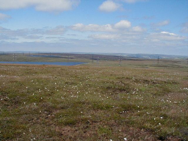 Across the Moorland to Blackstone Reservoir