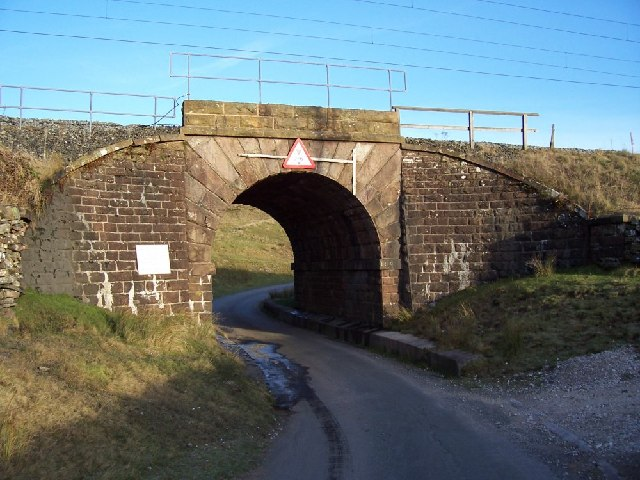 A railway bridge near Tebay Services M6.