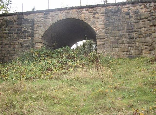 Railway Bridge off Primrose Hill, Batley
