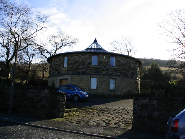 Former Reservoir (holding tank) now a house