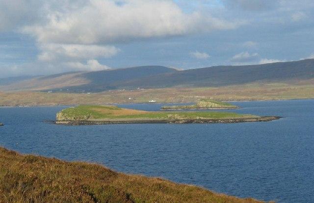 Eilean Mor in Loch Greshornish