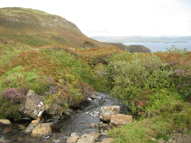 Burn Near Brandarsaig Bay