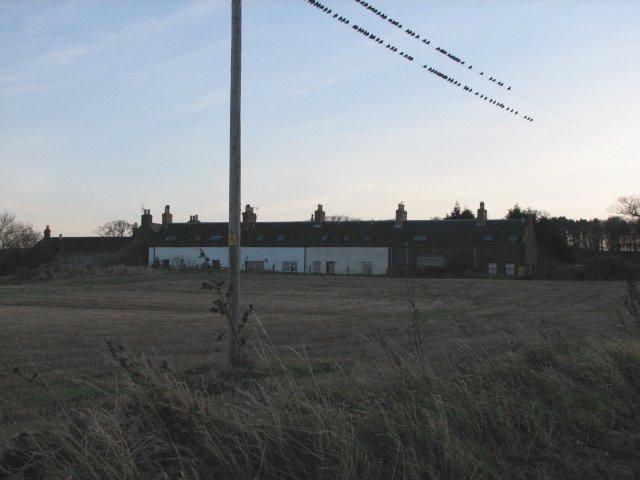 Cottages at Birnieknowes