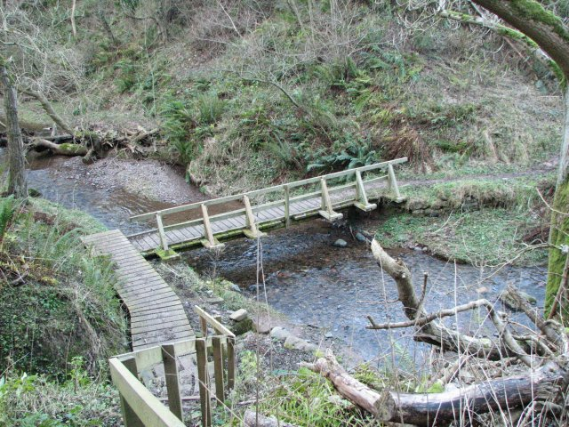 Footbridge, Pease Dean