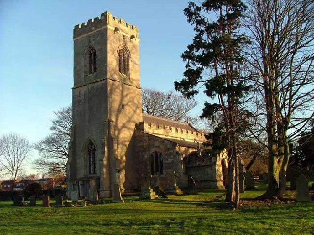 St Peters Church Hayton Nr Retford Notts
