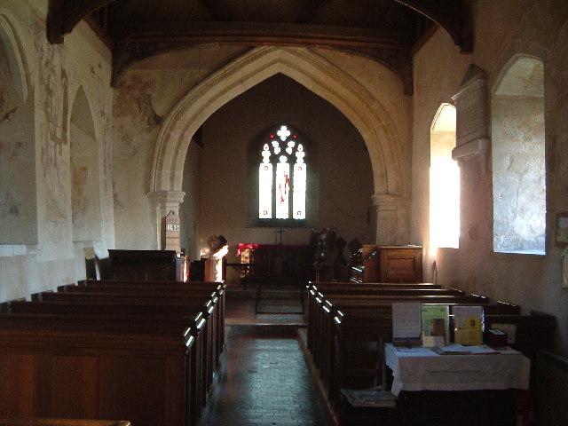 All Saints - Interior