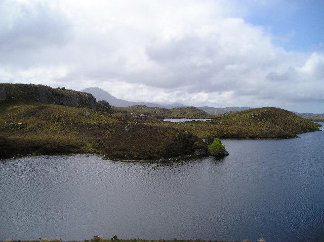 Hill Loch near Rhichonich