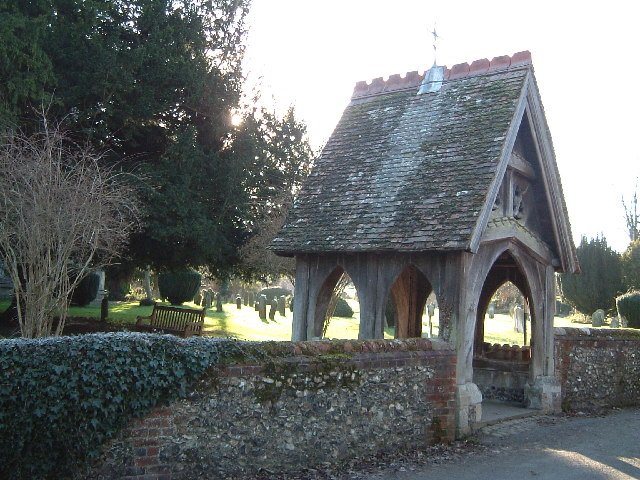 The lych-gate, St. Mary's, Wendover