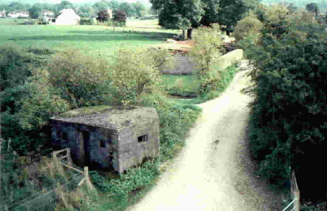Macclesfield Canal Pillbox