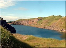 NY0517 : Salterhall Quarry, part of Rowrah Quarry by Malcolm Reeve