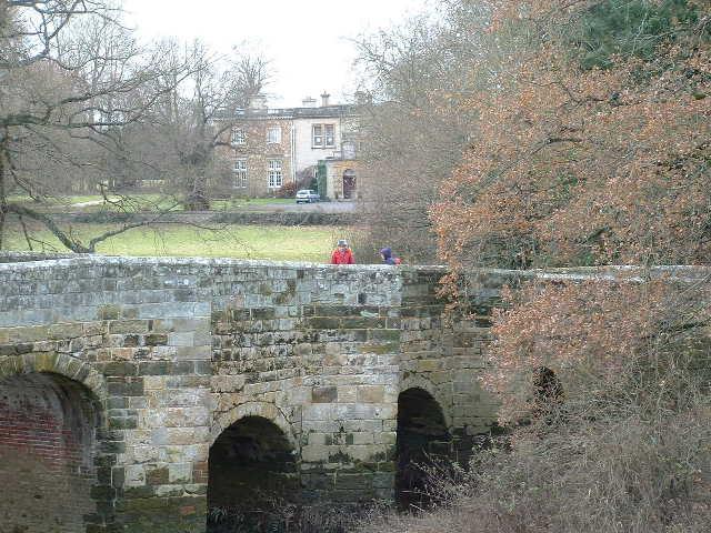 Stopham Bridge & House