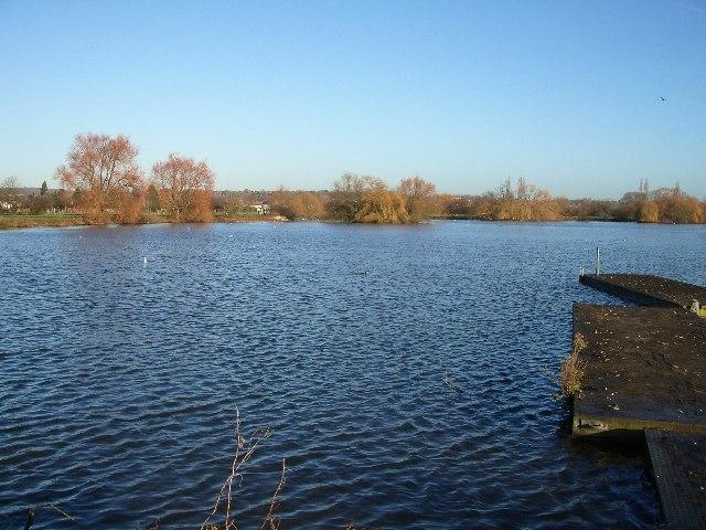 Boating lake, Buckhurst Hill