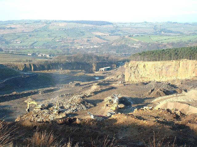 Birch Vale Quarry
