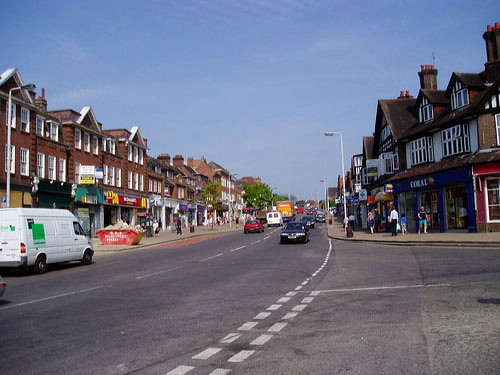 Pinner shopping centre