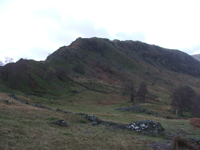 Swine Crag and Heron Crag.
